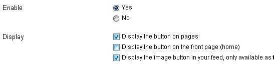 плагин TweetMeme Button - включаем