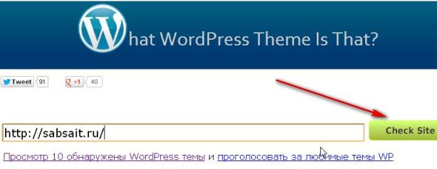 Как узнать название шаблона WordPress